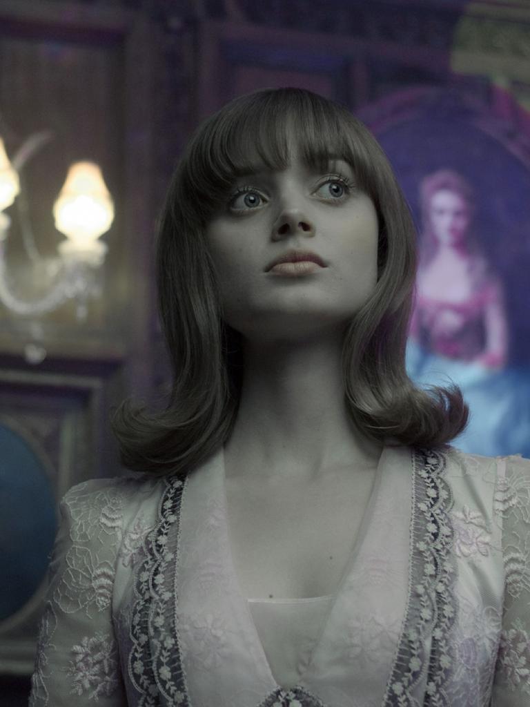 Bella Heathcote as Victoria Winters in Dark Shadows.