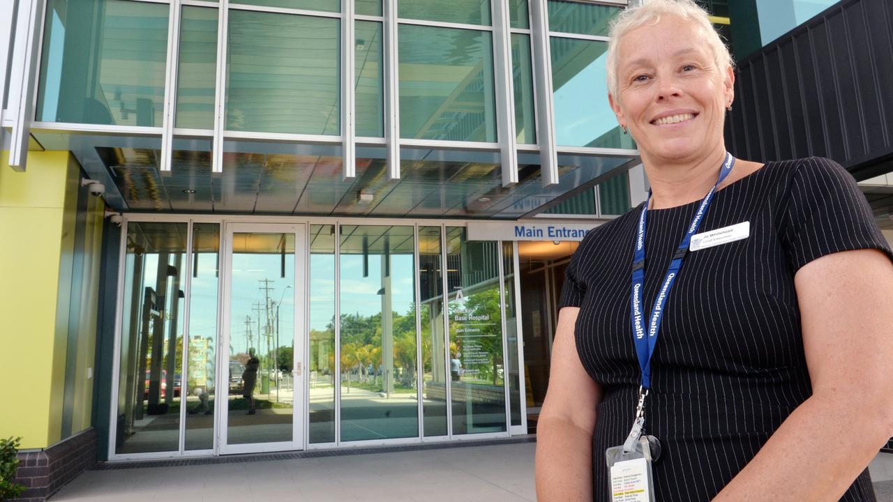 Mackay Hospital and Health Service chief executive Jo Whitehead.