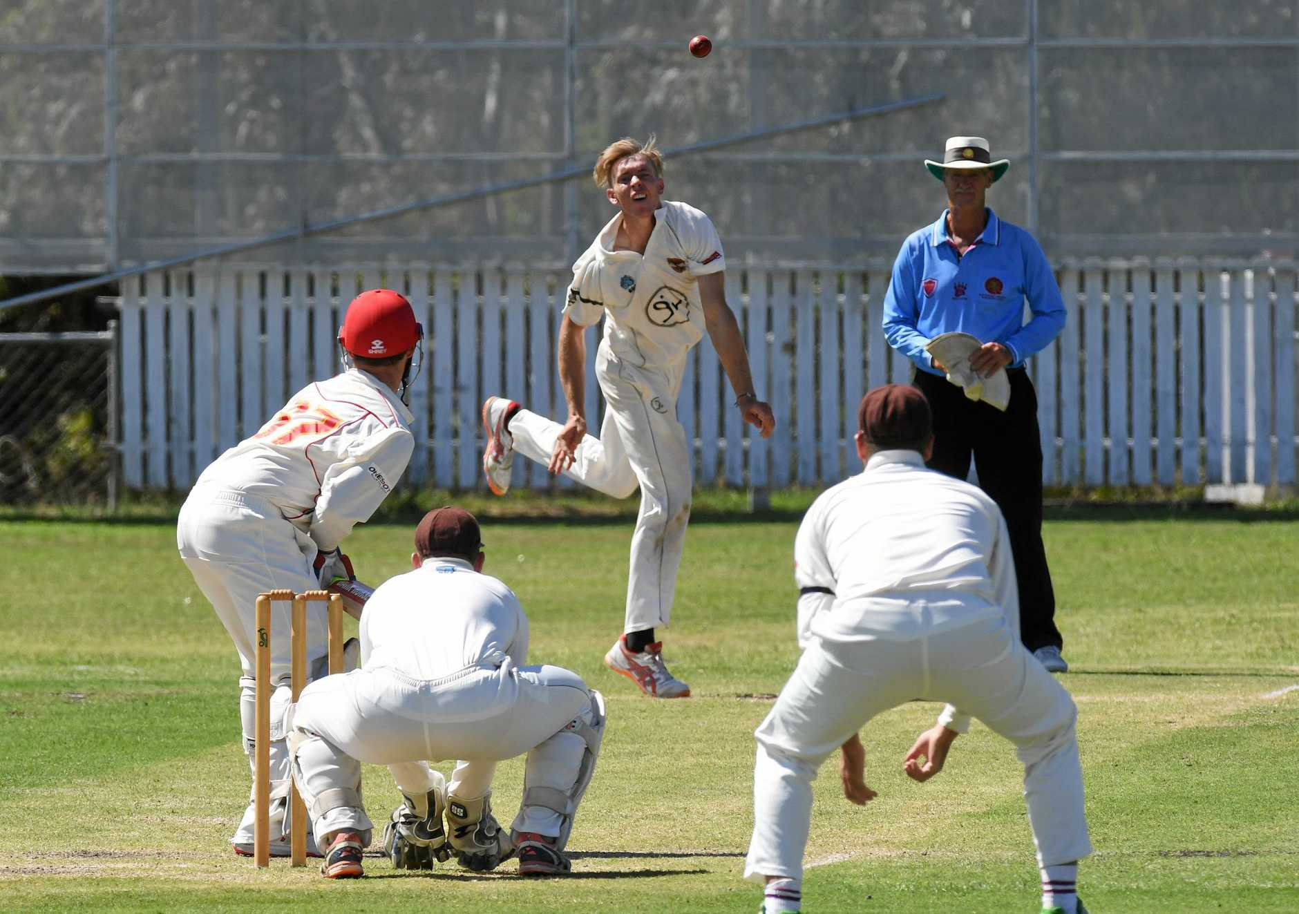 Ipswich Hornets V Sunshine Coast played at Baxter Oval on Saturday. Jack Wood.