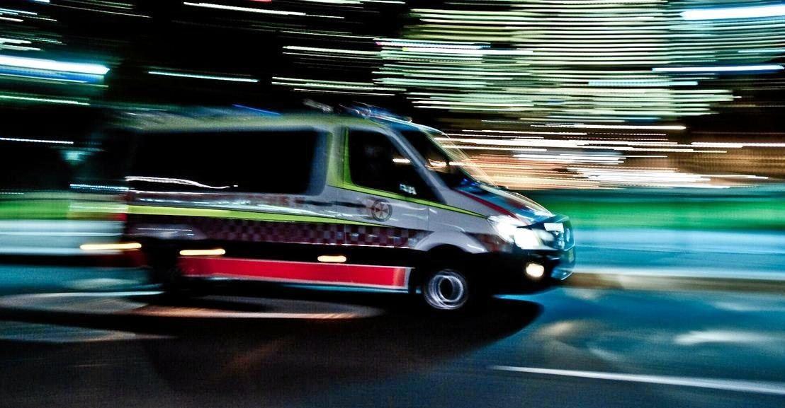 Queensland Ambulance Service paramedics rushed to the scene of the incident at 8.13pm last night.
