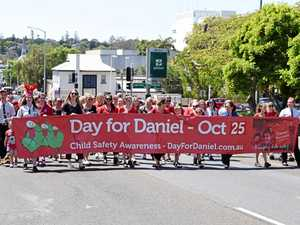 How you can help: Locals march in honour of Daniel Morcombe