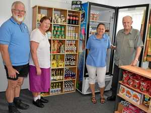 BACK IN BUSINESS: Food centre opens temporary home