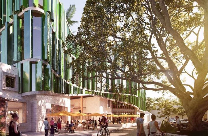 An artist's impression of how the building will look in Gordon St.