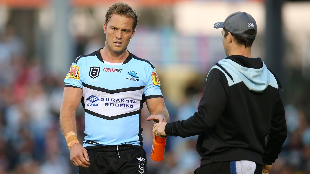 Rumours are rife the Sharks are willing to release Matt Moylan. Picture: Getty Images