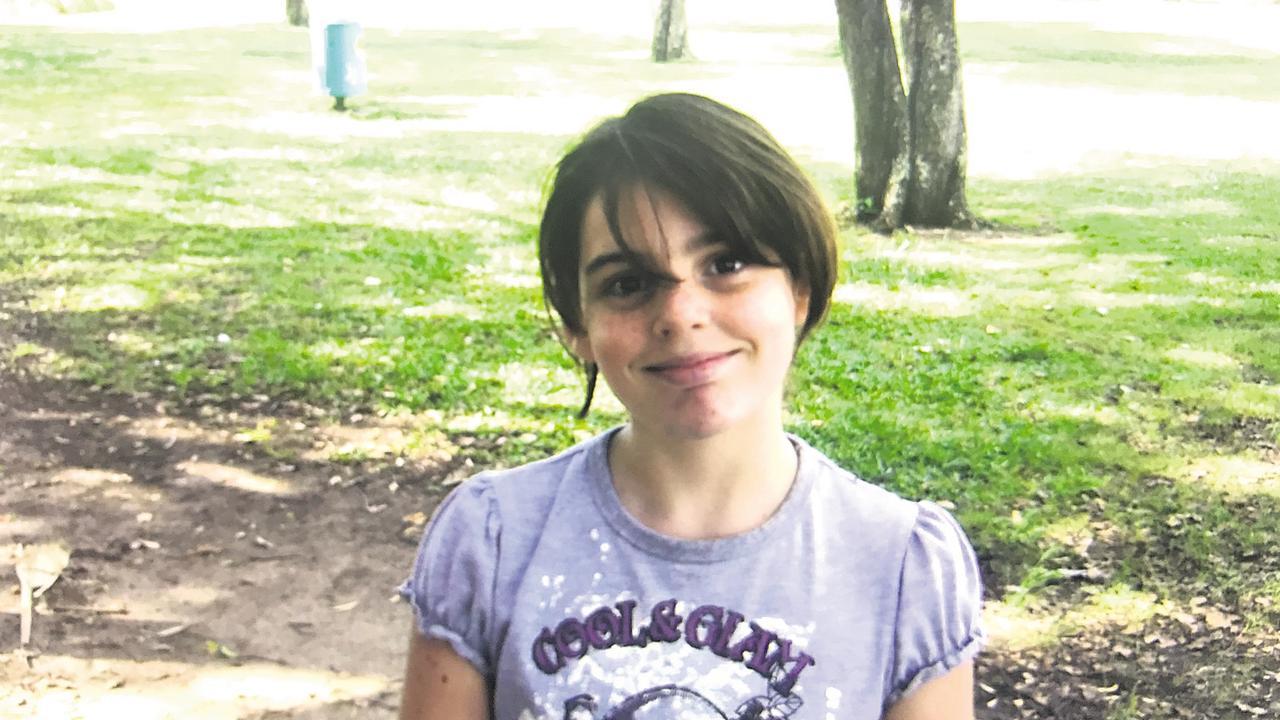 A young Shoannah Eades.