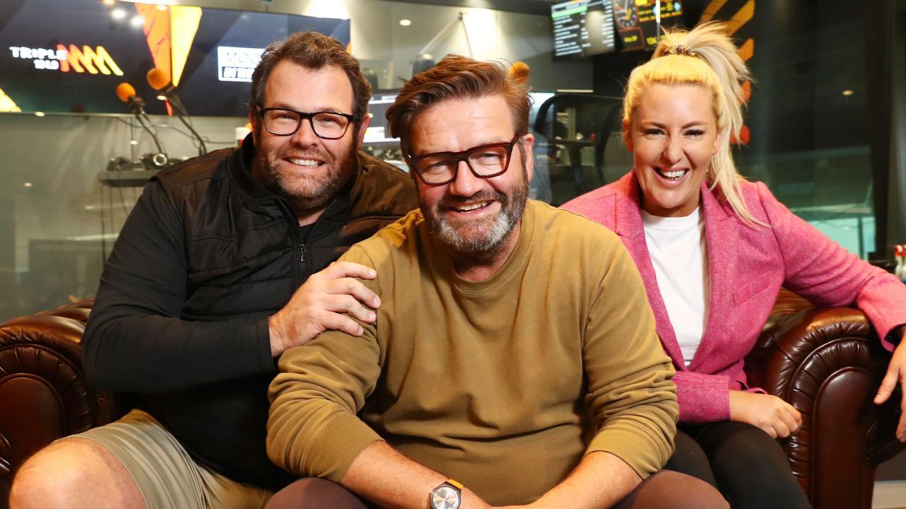 Triple M breakfast hosts Gus Worland, Lawrence