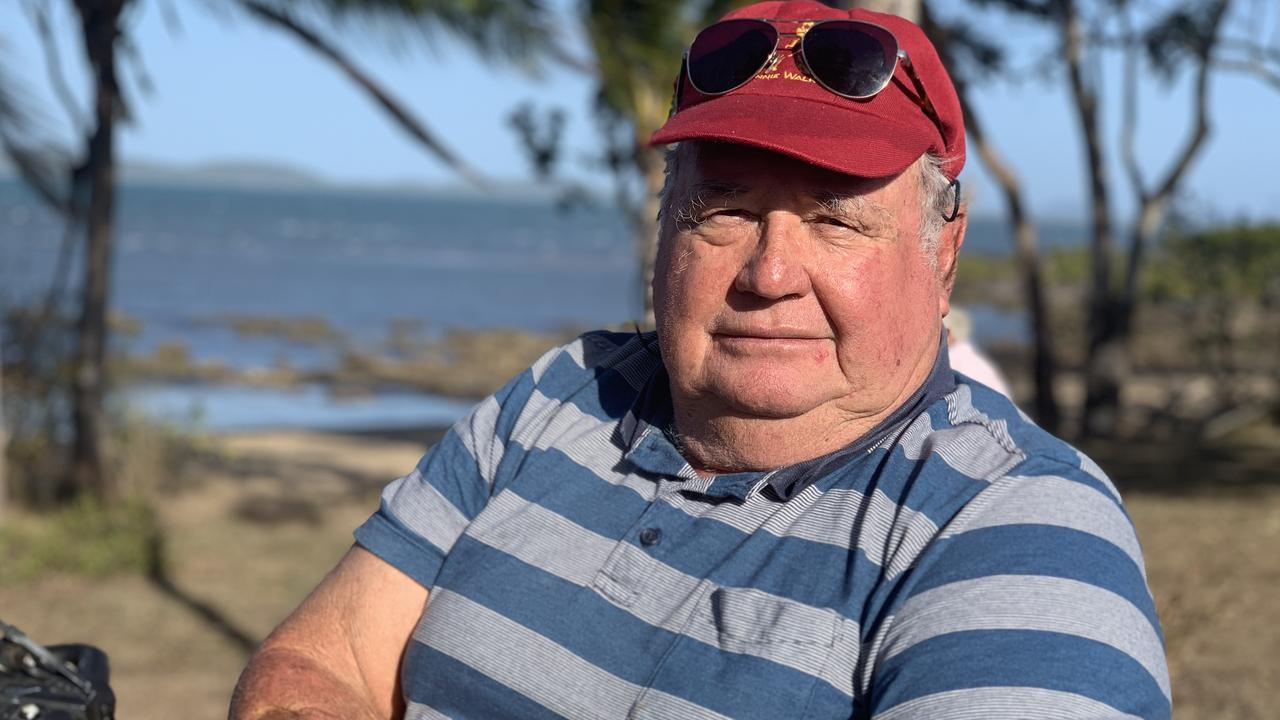 Noel Keioskie lives at St Helens Beach and is furious about suggestions Mackay Regional Council has made in its draft local coastal plan. His family have lived in the area since 1886.