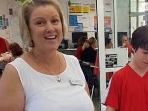 Seeing red at Noosa school for Daniel is all about keeping kids safe