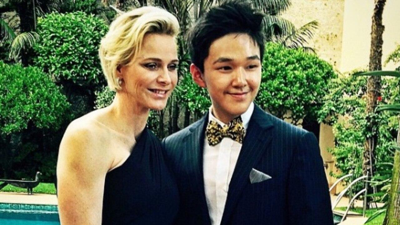 He's also met Princess Charlene of Monaco. Picture: Instagram/erictse0816