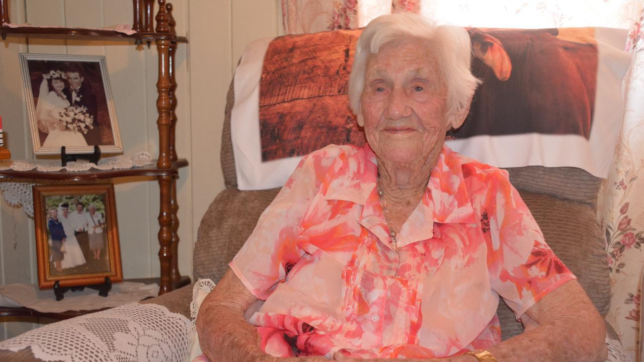 BIRTHDAY: Nanango resident Ethel Ryan's celebrated her 103rd birthday on Friday, October 25. (PHOTO: Jessica McGrath)