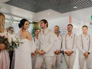Morning Rewind: Dream wedding in an unlikely location