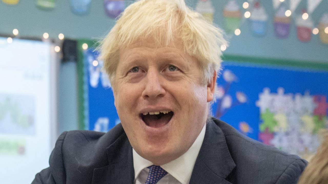 British Prime Minister Boris Johnson. Picture: Getty