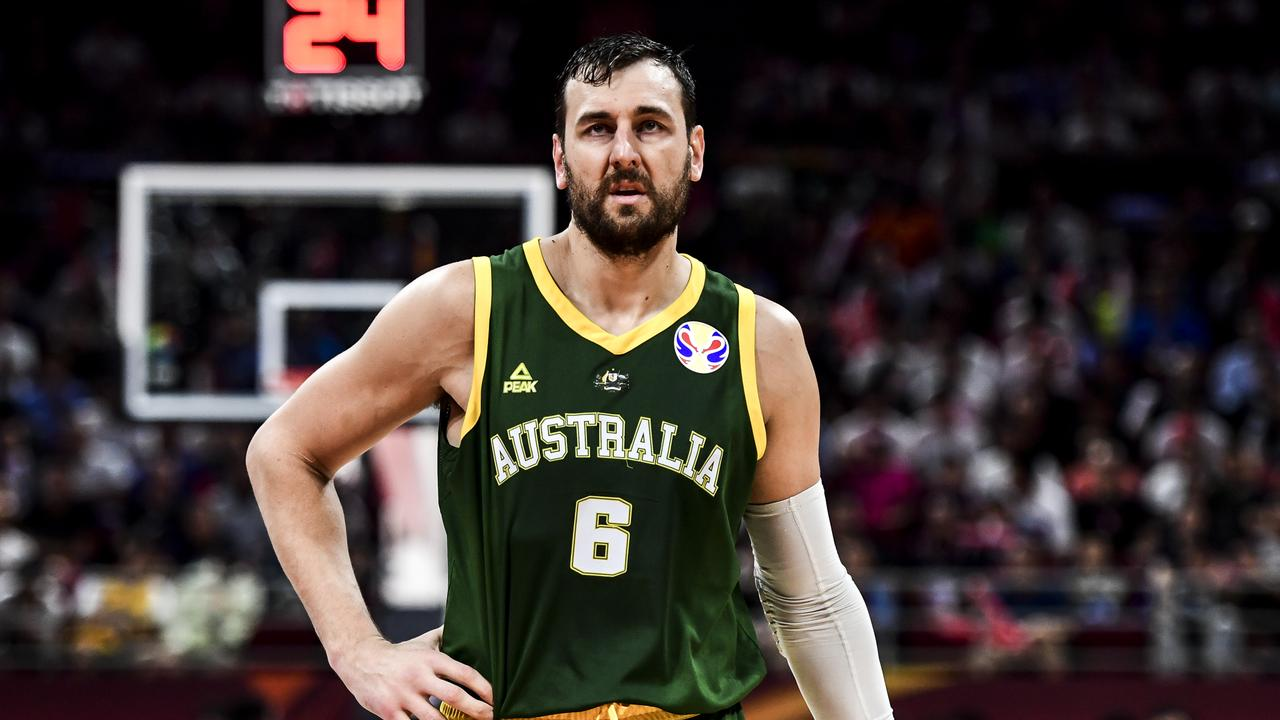 Andrew Bogut has copped plenty of heat from people in China over a tweet he made about swimmer Sun Yang. Picture: Getty Images