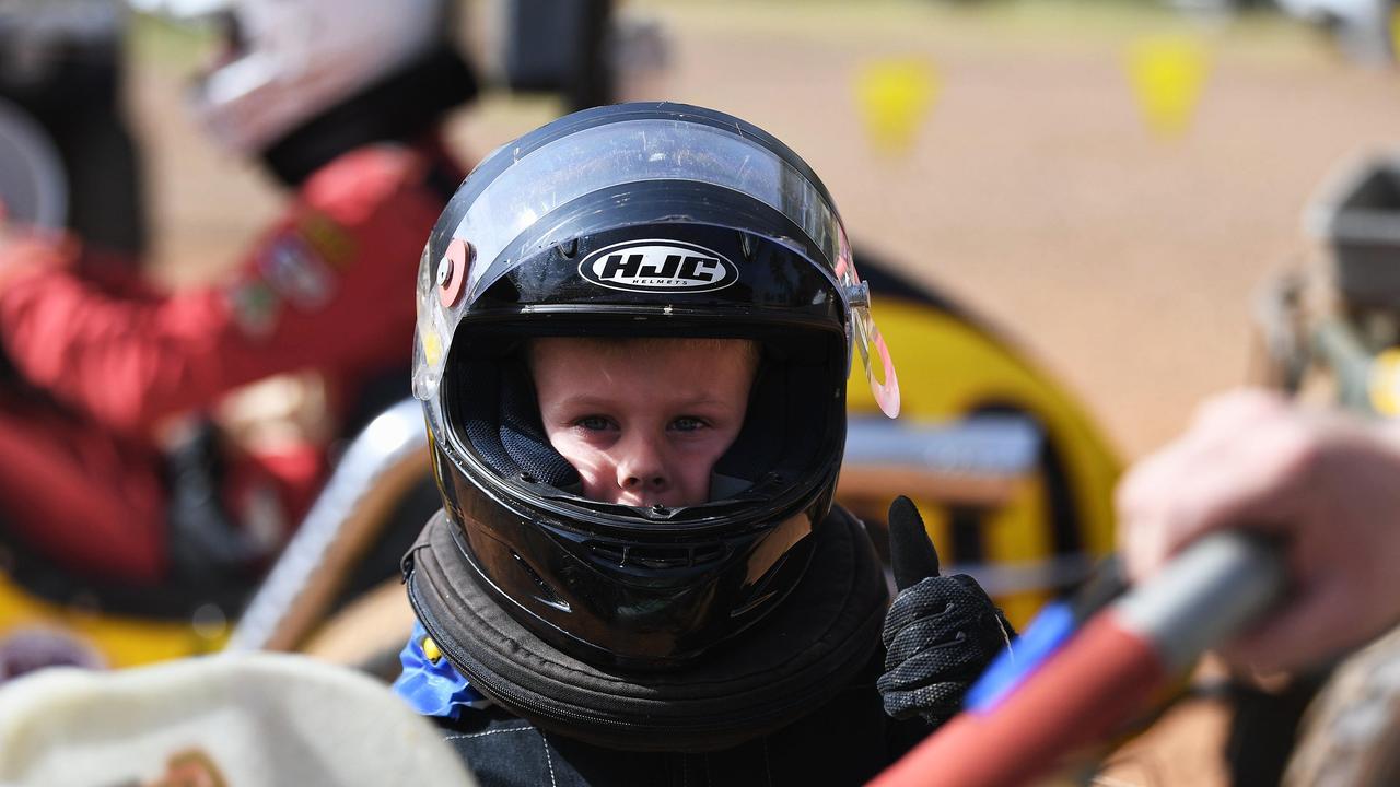Maryborough Speedway Karts - Nate Wood.
