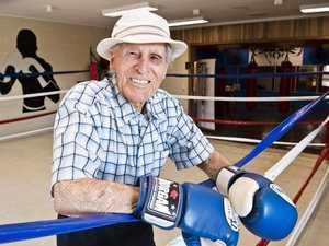 Senior hooked on boxing past