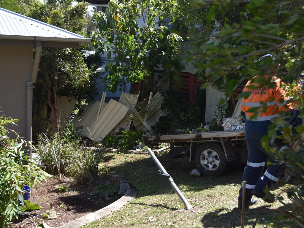 Crash in Louisa Street