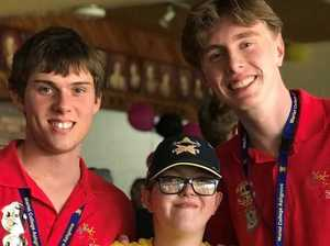 'Don't ever change': students turn carers for country boy