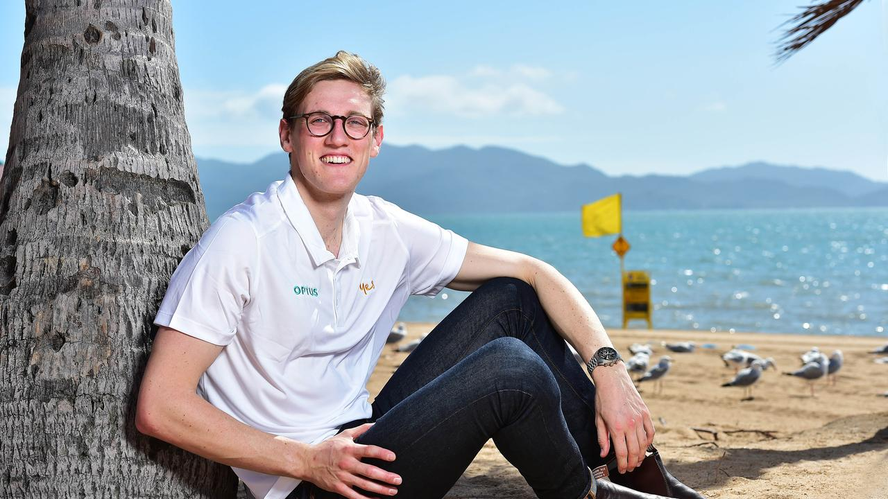 Olympian swimmer Mack Horton. Picture: Shae Beplate.
