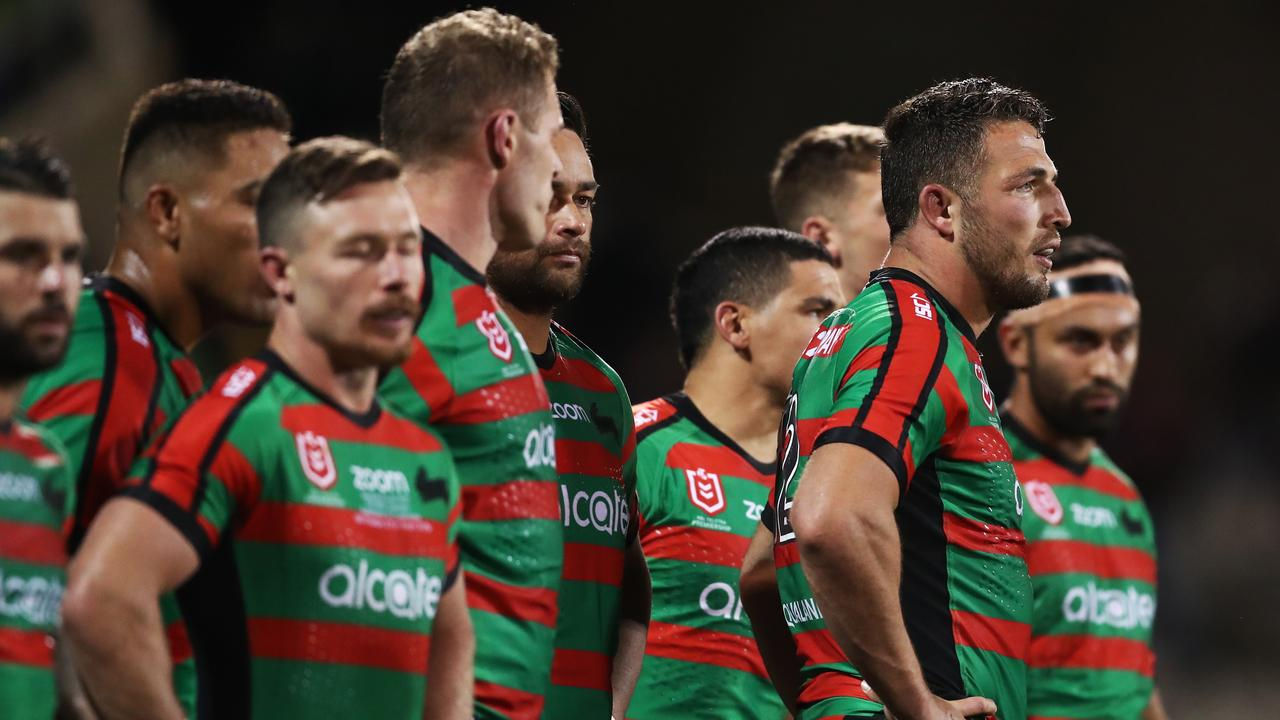 Burgess may have played his final game in first grade. Photo by Mark Metcalfe/Getty Images.