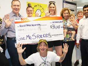 Radio's record donation for CQ kids