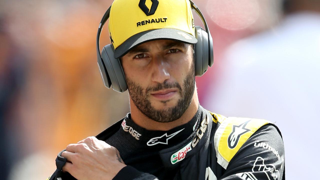 Daniel Ricciardo's nightmare season is coming to a close.