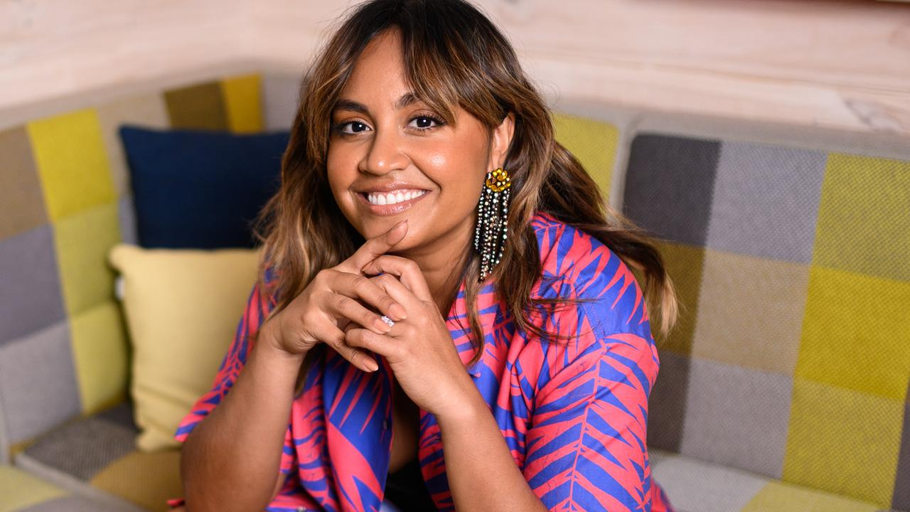Jessica Mauboy is at the top of the ARIA chart. Picture: James Gourley/The Sunday Telegraph