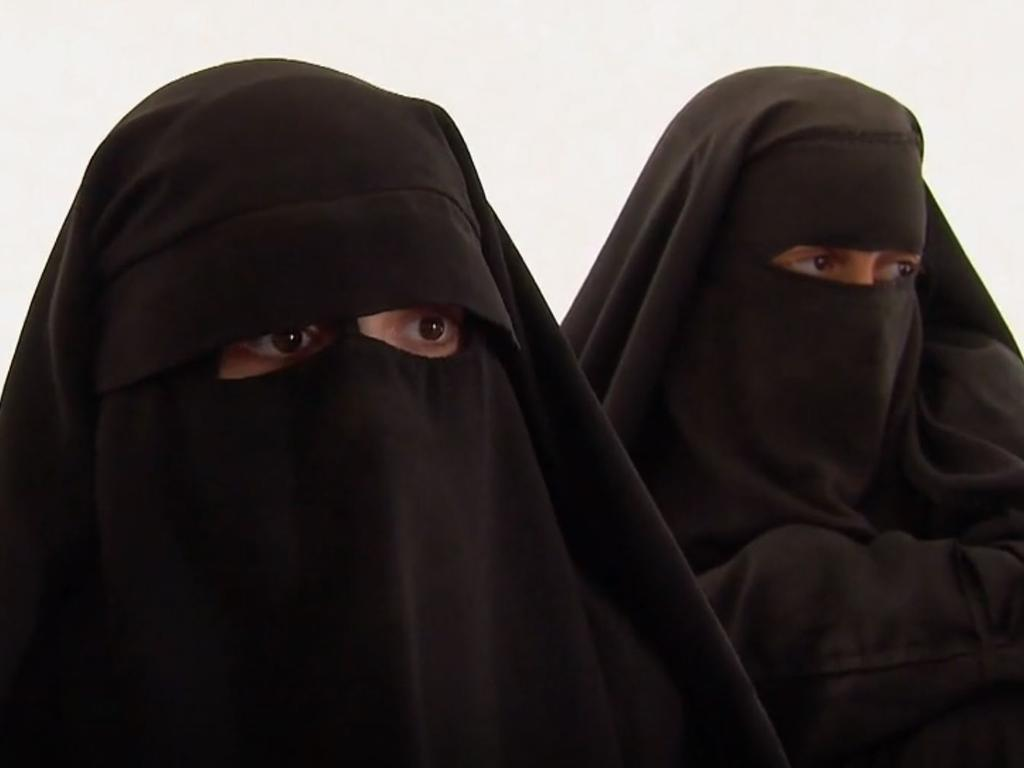 The wives of ISIS fighters currently housed in a Syrian refugee camp have reportedly made an extraordinary offer to the Australian Government. Picture: ISIS brides talking to ABC's Four Corners