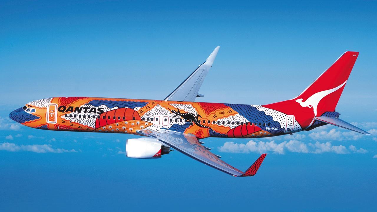 Qantas Indigenous Art