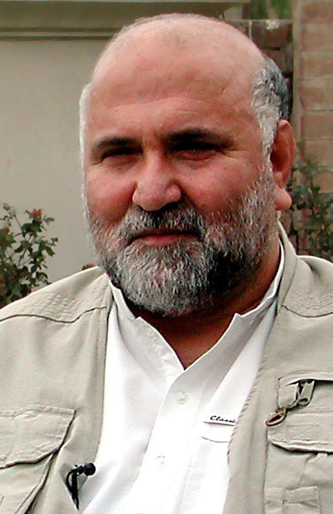 Afghan opposition figure Abdul Haq.