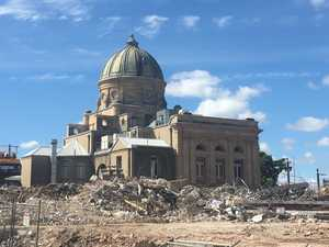 Demolition clears the way for new gallery