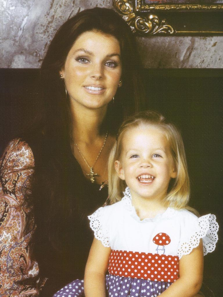 Priscilla Presley, pictured with their daughter Lisa-Marie, was central to Elvis's rise to fame.
