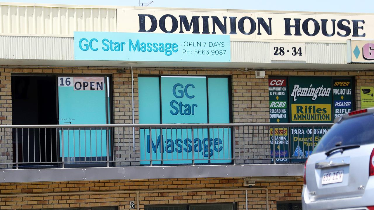 The Malaysian-born owner of this massage shop in Ashmore was charged with a range of offences.