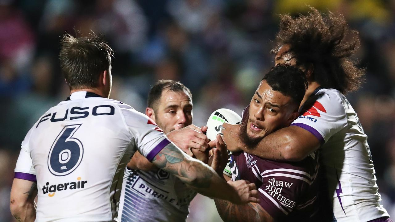 The Battle of Brookvale will headline the opening round. Picture: Brendon Thorne