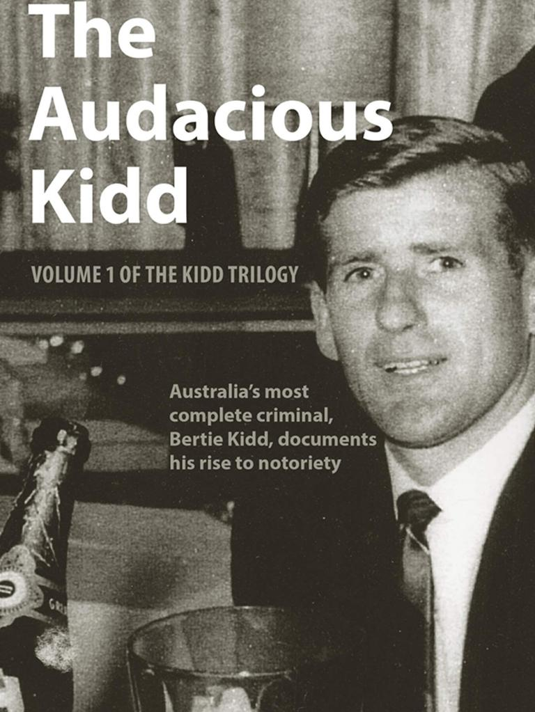 Bertie Kidd told his story to author Simon Griffith in 'The Audacious Kidd'.