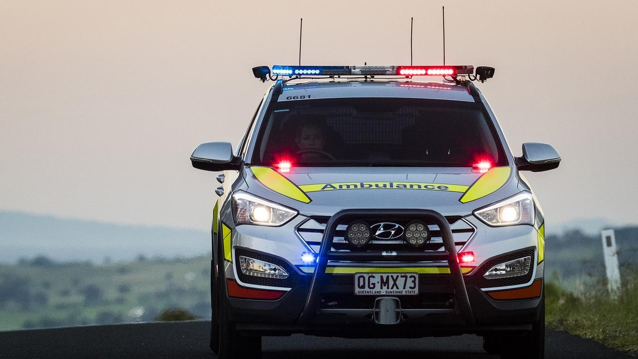 A teenager was taken to hospital with serious injuries last night.