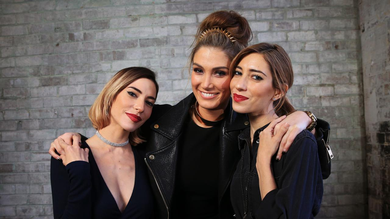 The Veronicas and Delta Goodrem ruled the pop charts together in 2016. Picture: Toby Zerna