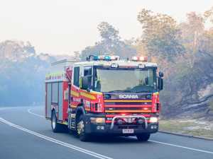 Toolara Forest fire out after 10 crews battle blaze