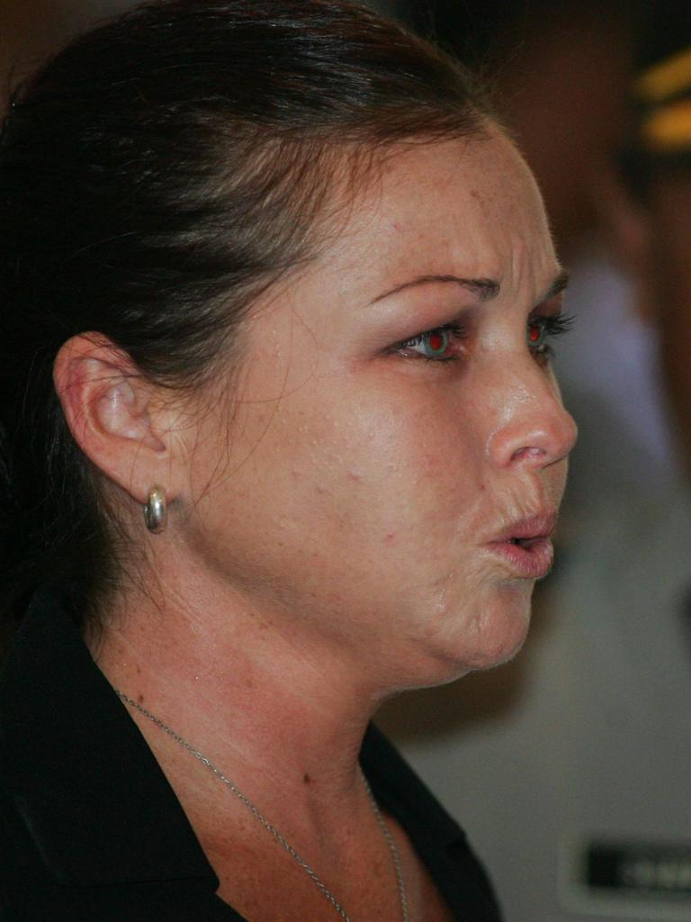 The day Corby was sentenced to 20 years jail in May 2005.