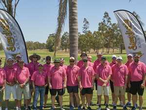 Charity golf day draws a crowd