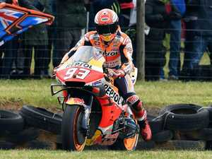 Marquez wins Australian MotoGP as Miller claims third