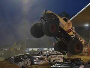 Monster trucks roar into Dalby