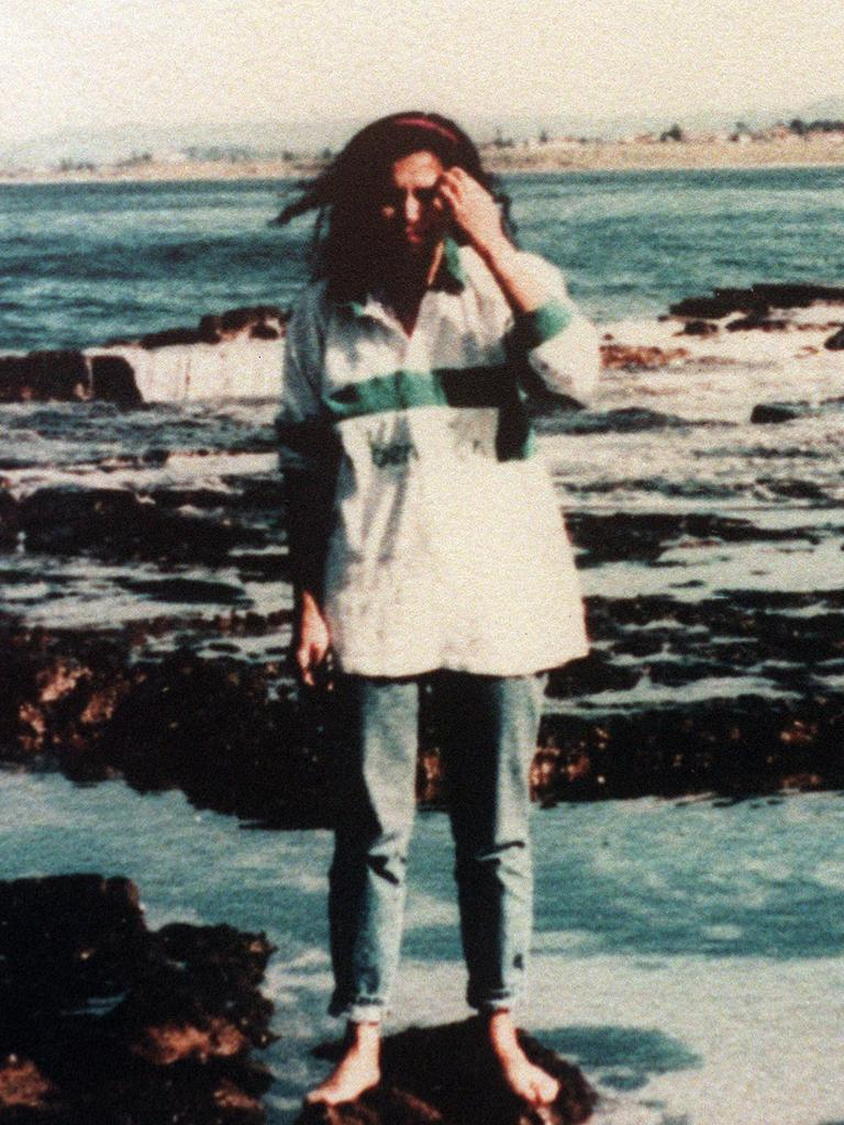 Milat's girlfriend wearing Caroline Clarke's Benetton shirt.