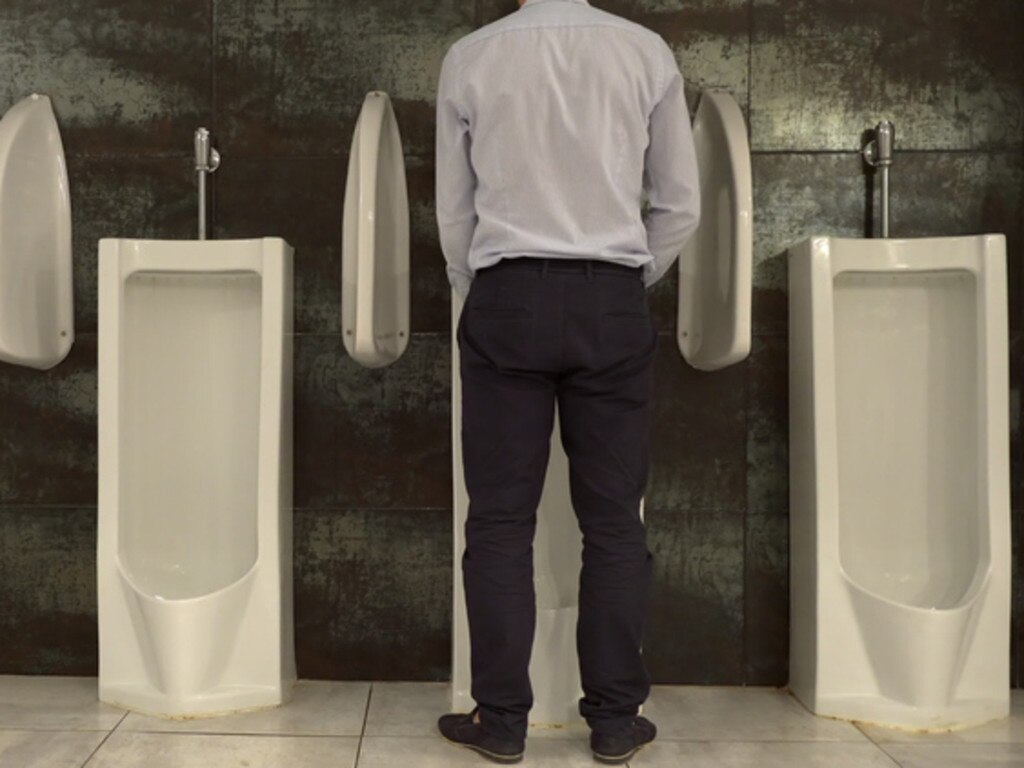 A disturbing number of men don't wash their hands after using the toilet. Picture: iStock