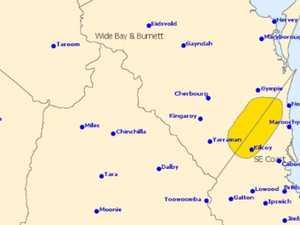 Severe storm warning issued for Burnett
