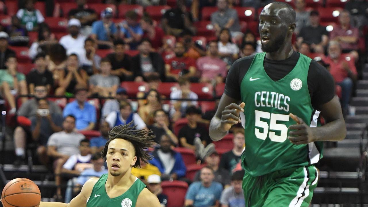 Welcome to the NBA, Tacko.