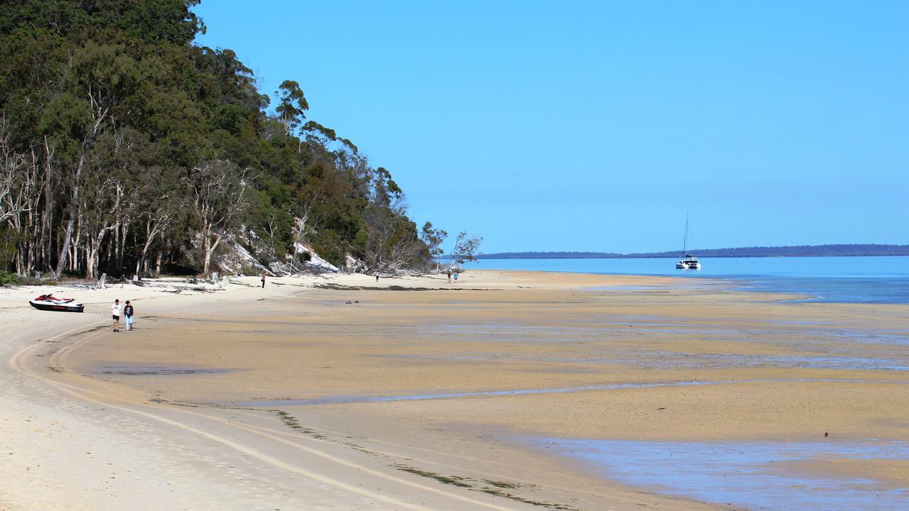 Kingfisher Bay Resort beach. Fraser island. Photo: Shirley Sinclair