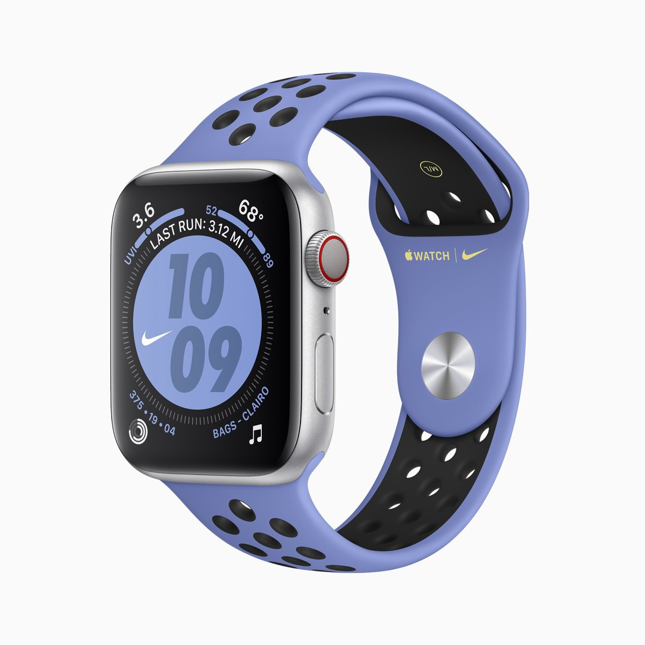 NIKE: Apple's Nike sports band is a popular choice.