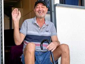 Health battle left former groundsman homeless