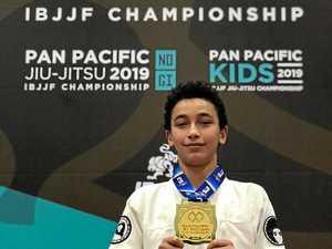 Jiu Jitsu champion wins four in a row