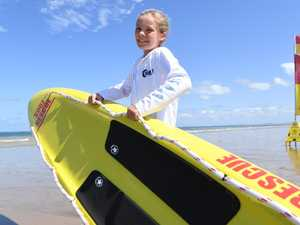 Quick-thinking nipper rescues race competitor